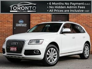 2015 Audi Q5 2.0T Technik+Navi+Bang & olufsen+Camera+Pano roof
