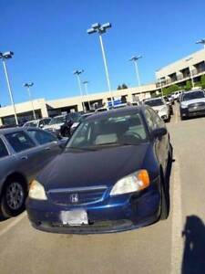 2001 HONDA CIVIC - GREAT FOR PARTS OR MECHANIC