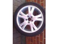 """Volvo 17""""alloy wheel"""