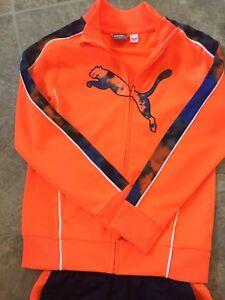 Boys Puma track suit