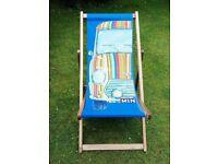 Deck Chair Funky Mini Car Colourful Good Condition