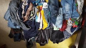 Bags of clothes for 11 - 12 year old boys