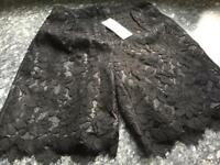 Topshop size 4 brand new with tags lace shorts