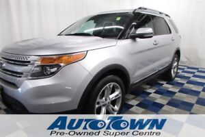 2012 Ford Explorer Limited/NAV/LTHR/PANOROOF/HTD SEATS/CLEAN HIS