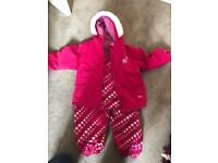 Trespass Pink Ski Suit