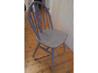 large hooped back chair