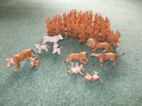 Group of Schleich Figures - Big Cats