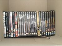 James Bond DVDs Full set from Dr No to Skyfall