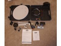 ROSS portable satellite dish and HD receiver caravan 12v