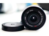Sony Zeiss T 35mm F/2.8 ZA FE Lens
