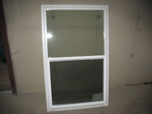 vinyl windows open up and down lots to choose from Brand New
