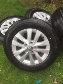 VW transporter t6/t5 alloy wheels