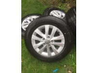 VW transporter t6/t5 alloy wheels