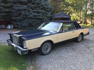 1983 Lincoln Continental MKVI Bill Blass Coupe (2 door)