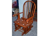 Bambini Sliding/Rocking Chair, POSSIBLE LOCAL DELIVERY.