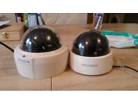 Samsung 2080p colour, day+ night cameras