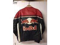 Leather jacket bike biker
