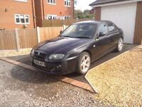 MG ZT 1.8 petrol spares or repair no mot drives well