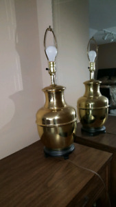 Big Brass lamps