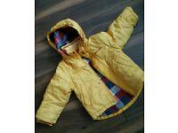 Ben sherman boy yellow winter jacket