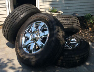 F150 Factory Chrome Ford Rims With Tires!