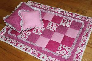 Hand-made Doll Quilt Set