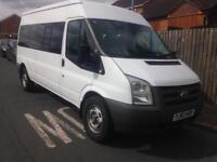 Transit 14 seat minibus