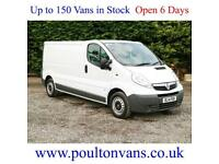 2014 (14) VAUXHALL VIVARO 2900 LWB LOW ROOF PANEL VAN - 2.0CDTI, 115BHP
