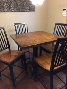 Pub Style Kitchen Chairs and Table