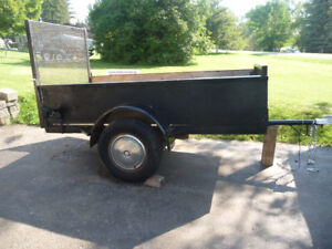 4 x 8 trailer with ramp !