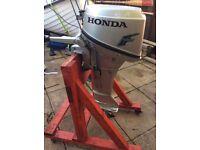 Honda 6hp 4stroke outboard
