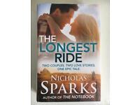 Nicholas Sparks 'The Longest Ride' Hardcover Book