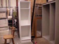White IKEA shelves 200x50x56 cm