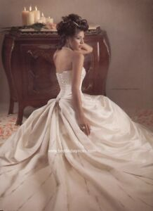 REDUCED Maggie Sottero Wedding Dress, used only 2 hrs !