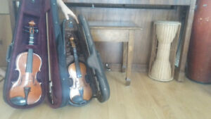 2 children size violins for sale