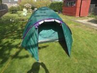 AS NEW 3 MAN DOME TENT BARGAIN