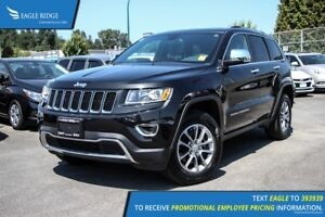 2016 Jeep Grand Cherokee Limited Sunroof, Heated Seats, and S...