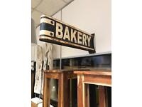 Metal Vintage style Bakery Sign