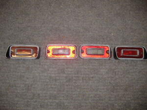 Tail light/brake light lenses