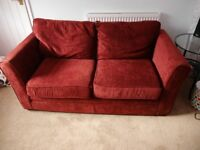 Sofa Bed from Next, two/three seater which folds out to double bed.
