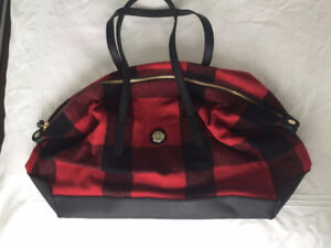 Tommy Hilfiger Plaid Flannel Tote
