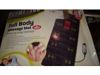 Medics Home Use Full Body Massage Mat with Heat Settings