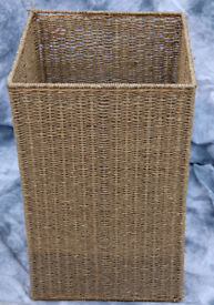HOME Laundry Basket - Natural Seagrass, Without Lid
