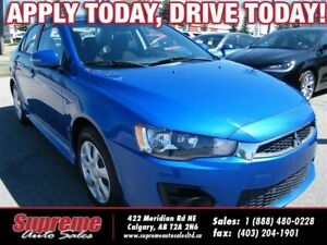 2016 Mitsubishi Lancer ES H.SEATS/EASY FINANCING