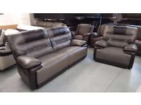 Ex-Display ScS Venus 3 Seater Manual Recliner & Electric Recliner Armchair **CAN DELIVER**