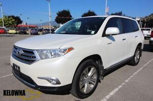 2012 Toyota Highlander V6 | Leather | PWR Seats | Bluetooth
