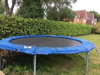 Trampoline Jumpking 14 ft plus Weather Cover, Access Ladder & Instruction Manual