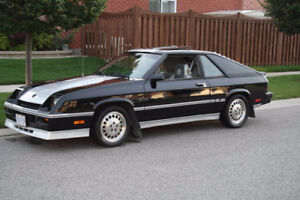 Looking for a Dodge Charger Shelby or GLHS Turbo 1985-87