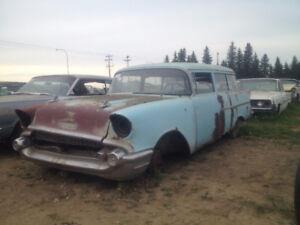 *1957 chev 2 door wagon* resto project