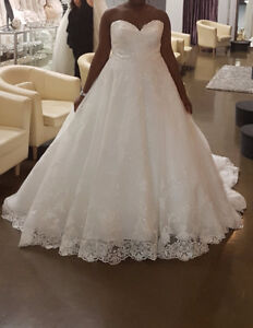 Allure Bridal ball wedding gown size 20-22